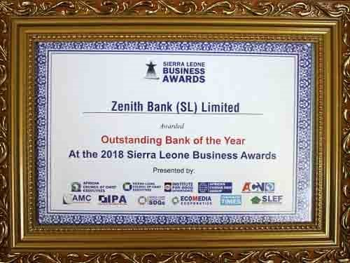 Outstanding Bank of the Year - 2018